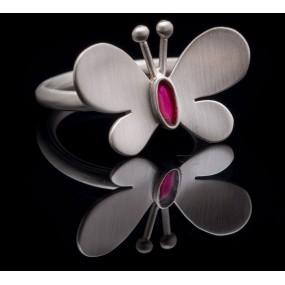 "Handmade ring ""Butterfly"""