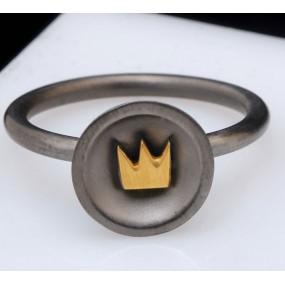"Handmade ring ""Crown Bull"""