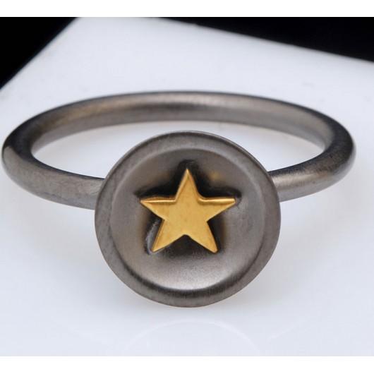 """Handmade ring """"Star Bull"""""""