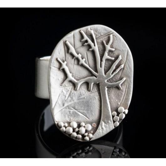 "Handmade ring ""Tree"""